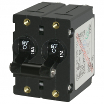 BS7232   CIRCUIT BREAKER AA2 TOGGLE 10A BLK