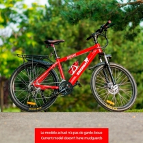 EWV-SPORT-RM Electric Bike sport style 36V red