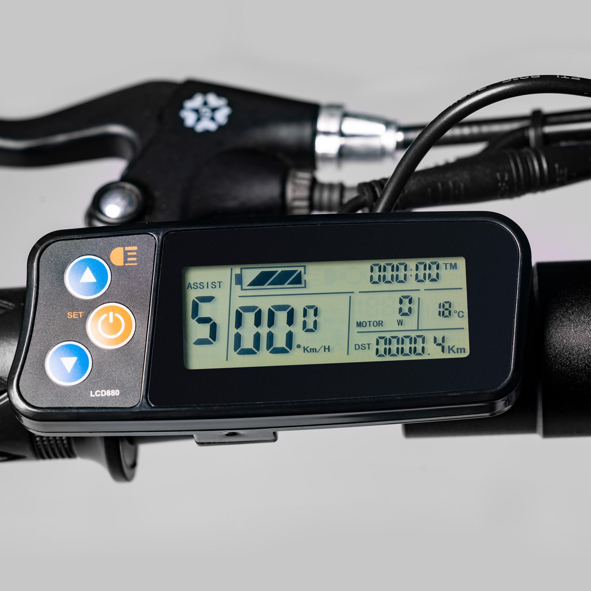EWT-GO-8   Trottinette électrique pliable de 8'' 36V  350W noir