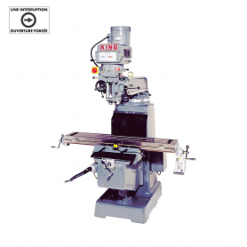 "VERTICAL ""TURRET"" MILLING MACHINE (600V, 3 PHASE)"