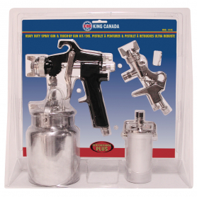 HEAVY DUTY SPRAY GUN & TOUCH UP GUN KIT