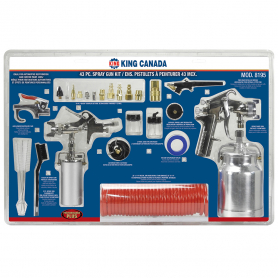43 PC. SPRAY GUN KIT