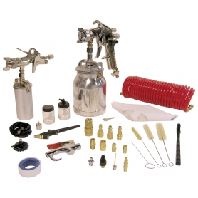 8195 43 PC. SPRAY GUN KIT