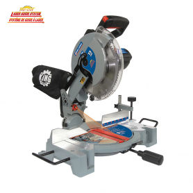 "10"" COMPOUND MITER SAW WITH LASER"