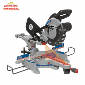 """10"""" SLIDING COMPOUND MITER SAW WITH TWIN LASER"""