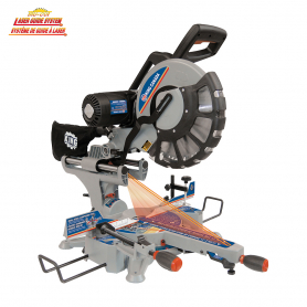"""12"""" SLIDING DUAL COMPOUND MITER SAW WITH TWIN LASER"""