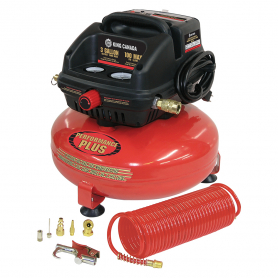 3 GALLON OIL-FREE AIR COMPRESSOR KIT