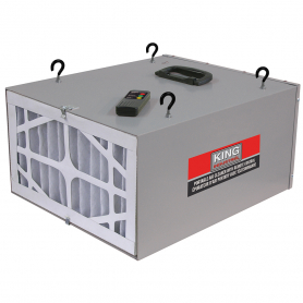 3 SPEED PORTABLE AIR CLEANER WITH REMOTE CONTROL