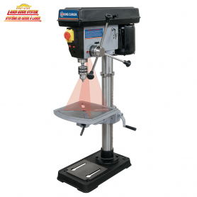 "15"" BENCH DRILL PRESS WITH DUAL LASER GUIDE SYSTEM"