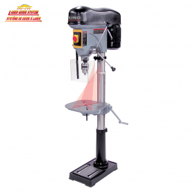 17'' LONG STROKE DRILL PRESS WITH SAFETY GUARD