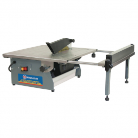 "7"" PORTABLE TILE SAW WITH EXTENSION TABLE"