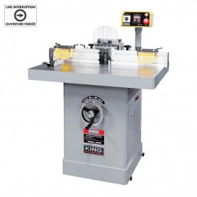 "5 HP 1-1/4"" INDUSTRIAL SHAPER WITH DIGITAL READOUT"