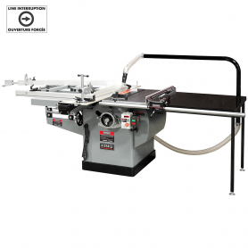 "10"" SCORING SAW WITH OUTRIGGER SLIDING TABLE"