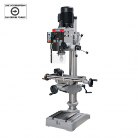 "21"" GEARHEAD MILLING DRILLING MACHINE (220V)"