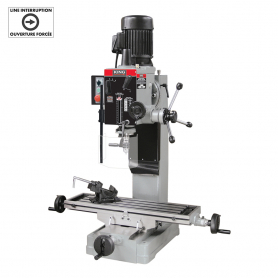 GEARHEAD MILLING/DRILLING MACHINE WITH SAFETY GUARD