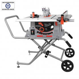 """10"""" JOBSITE SAW WITH FOLDING STAND"""
