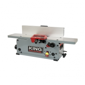 "6"" BENCHTOP JOINTER WITH HELICAL CUTTERHEAD"
