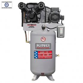HIGH OUTPUT 7.5 PEAK HP 80 GALLON AIR COMPRESSOR