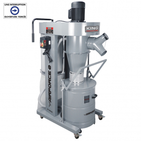 2HP CYCLONE DUST COLLECTOR
