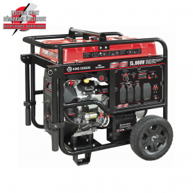 15,000W V-TWIN GASOLINE GENERATOR WITH ELECTRIC START