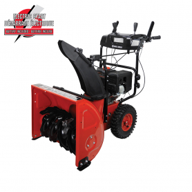 "24"" 2-STAGE GASOLINE SNOW BLOWER WITH ELECTRIC START"