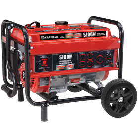 5100W GASOLINE GENERATOR WITH WHEEL KIT