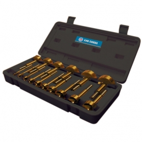 KFB-16T *** DNU *** 16 PC. TITANIUM COATED FORSTNER DRILL BIT SET