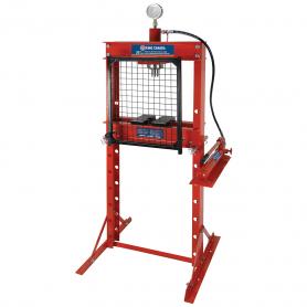 Presse hydraulique de 20 tonnes avec garde à grillage