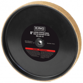"""REPLACEMENT 8"""" LEATHER STROPPING WHEEL"""