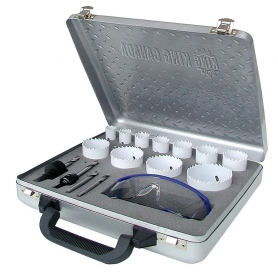 KM-160K 16 PC. BI-METAL HOLE SAW KIT