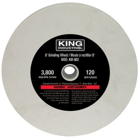 "REPLACEMENT 8"" -120 GRIT GRINDING WHEEL"