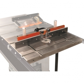 INDUSTRIAL ROUTER TABLE AND FENCE ATTACHMENT