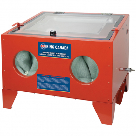 SANDBLAST CABINET WITH LED LIGHT