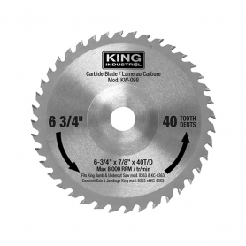 REPLACEMENT CARBIDE BLADE FOR KC-8363