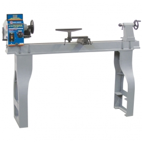 "14"" X 43"" VARIABLE SPEED WOOD LATHE WITH DIGITAL READOUT"