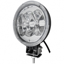 """Hella 7"""" Driving Light with celuis ring"""