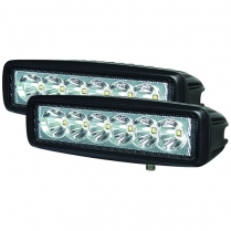 Hella  6 LED Mini Lightbar Spot Light SET