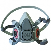3M Reusable Half Face Respirator Mask 6200