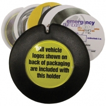 Licence Holder Plastic Single