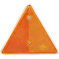 Reflector Triangle Amber