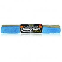 Microfibre Supersoft Towels 3P