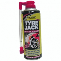 Tyre Jack Tyre Inflator Shield