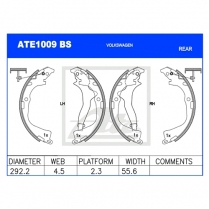 Brake Shoes ATE1009BS