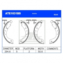 Brake Shoes ATE1031BS