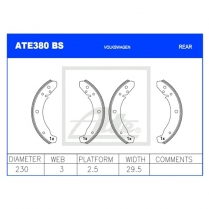 Brake Shoes ATE380BS