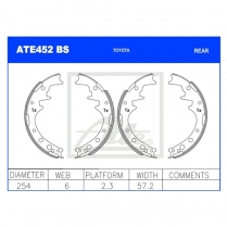 Brake Shoes ATE452BS