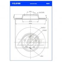 B/Disc DR6225 / 112.0169