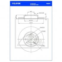B/Disc DR6242FS / 112.0106