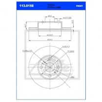 B/Disc DR6247FS / 113.0158