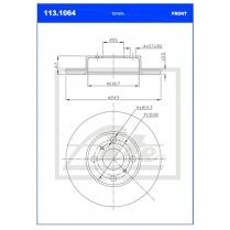 B/Disc DR6251FS/113.1064